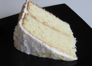 Slice of Lemon Cake
