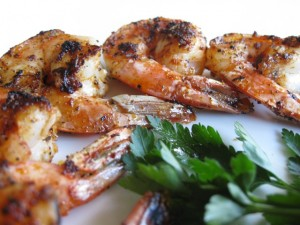 Spicy Shrimp - Pan Fried