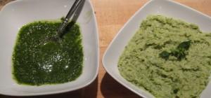 Pesto Oil & White Bean Pesto Dip