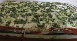 Pre-Baked Grilled Vegetable Lasagna