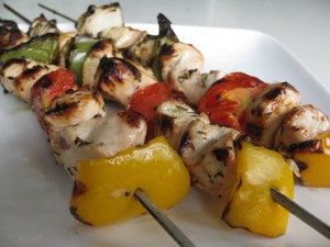 Lemon Herb Chicken Kabobs