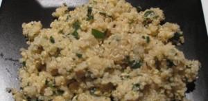 Lemon Pepper Quinoa - White