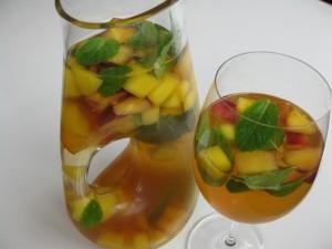 Mango Nectarine Sangria