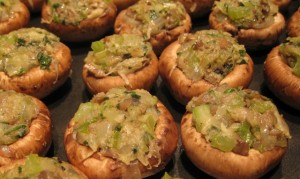 Stuffed Mushrooms - Pre Baked
